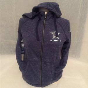 Nike Dallas Cowboys zip-up